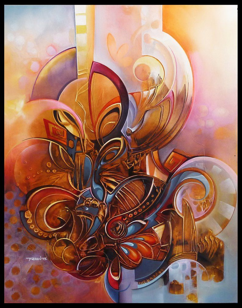 cocoon abstract painting by Amytea on DeviantArt