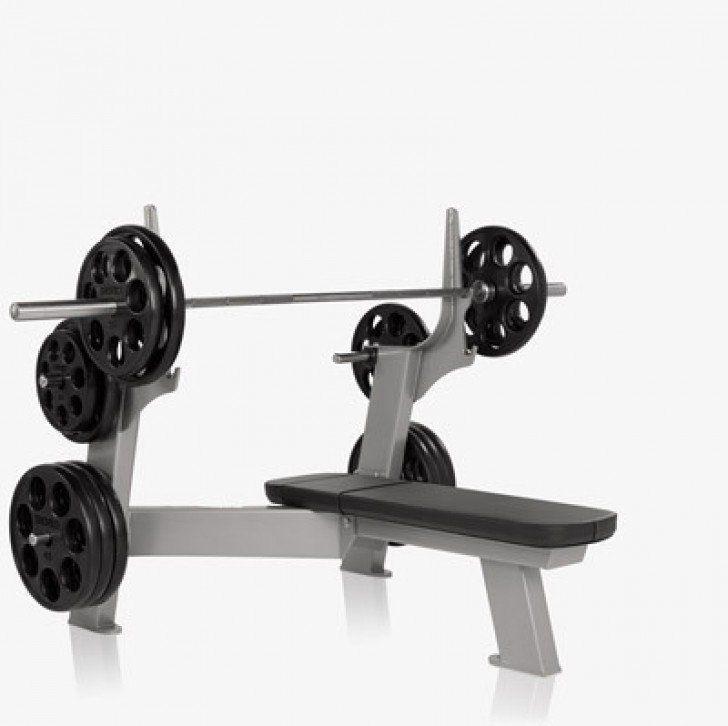 Benches Freemotion Epic Olympic Flat Bench F201 No Equipment Workout Commercial Gym Equipment Personal Gym