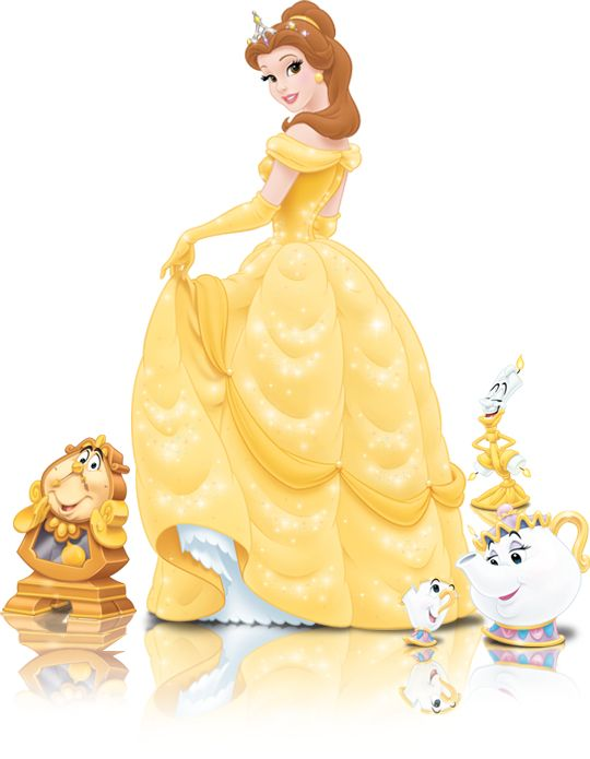 Belle And Her Enchanted Friends Official Disney Princesses Belle Disney Disney Princess Belle