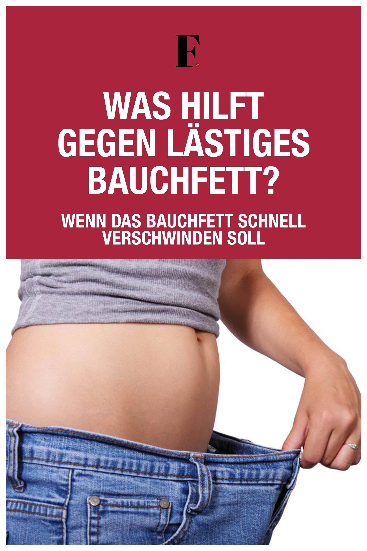Photo of WAS HILFT GEGEN LÄSTIGES BAUCHFETT?