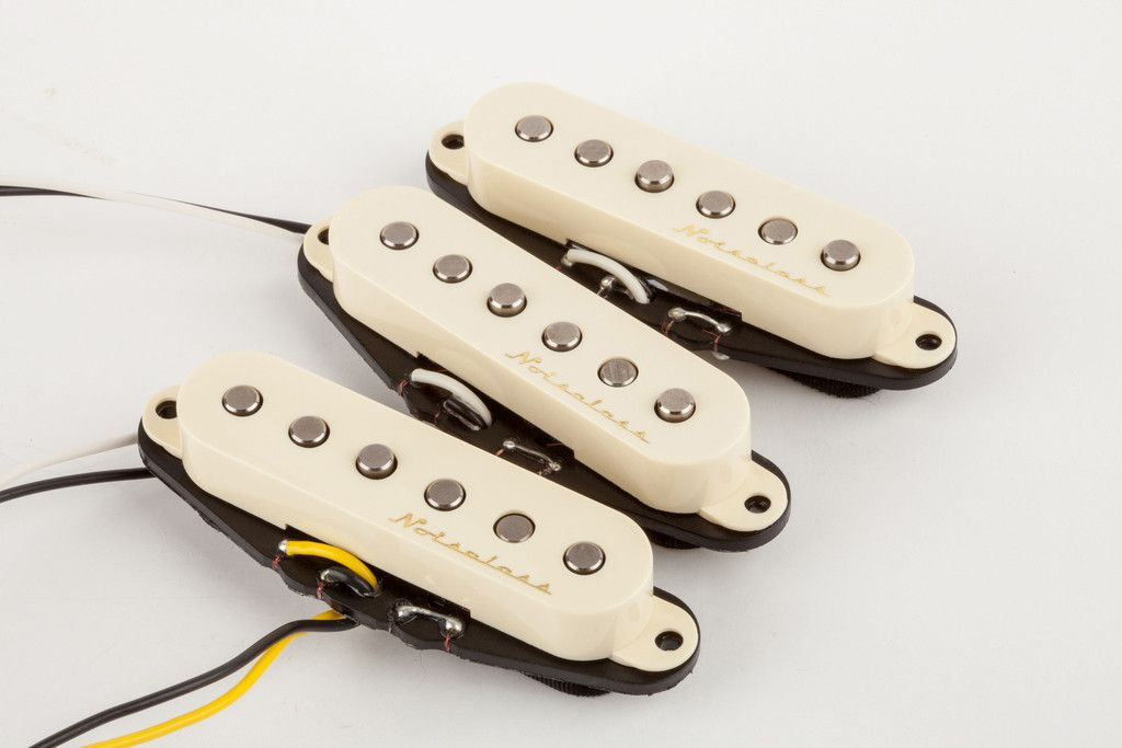 Fender Vintage Noiseless™ Strat Pickups | Fender pickups and Products