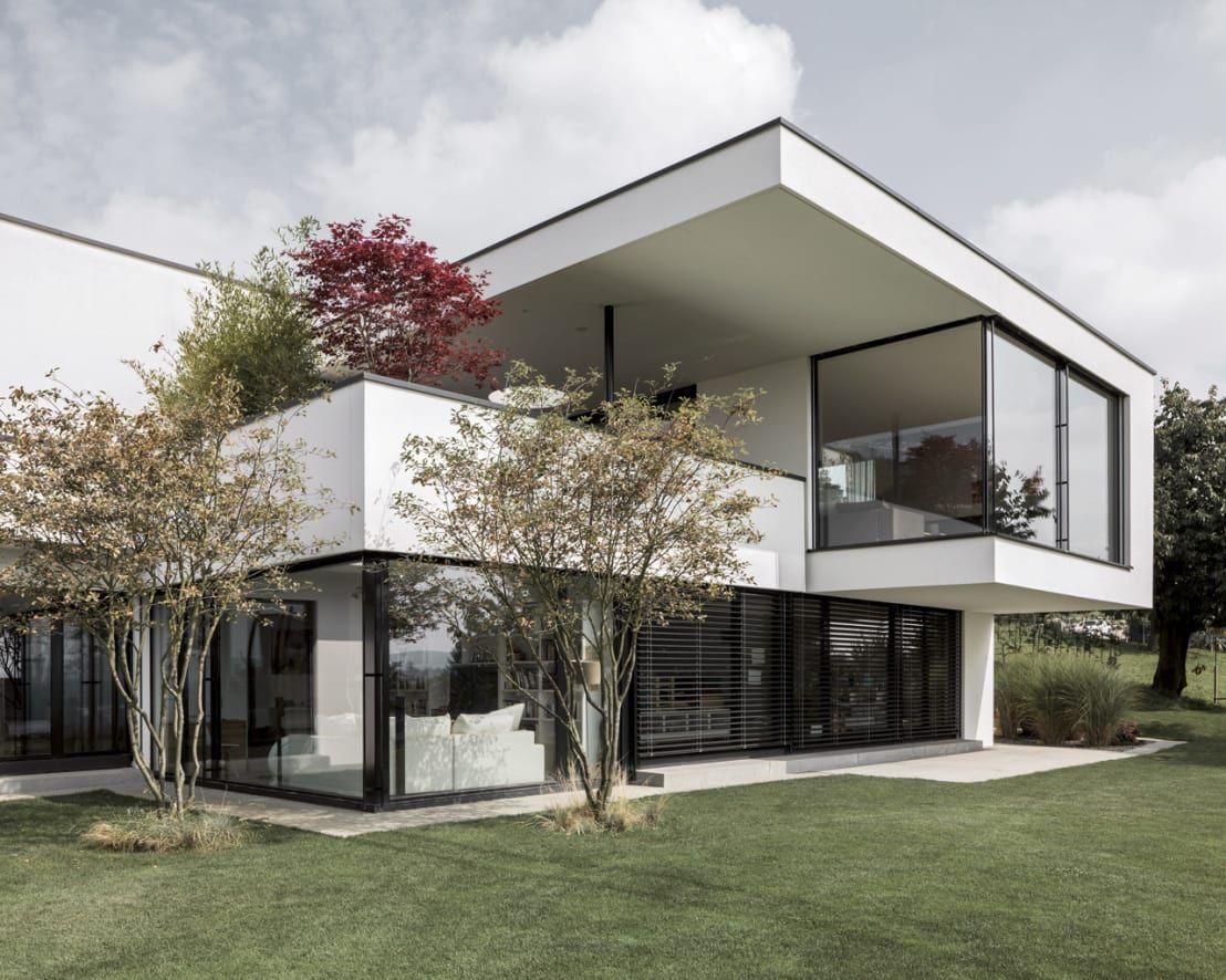 Moderne wohnideen außen le confort et le bienÊtre réunis dans une maison  zurich modern