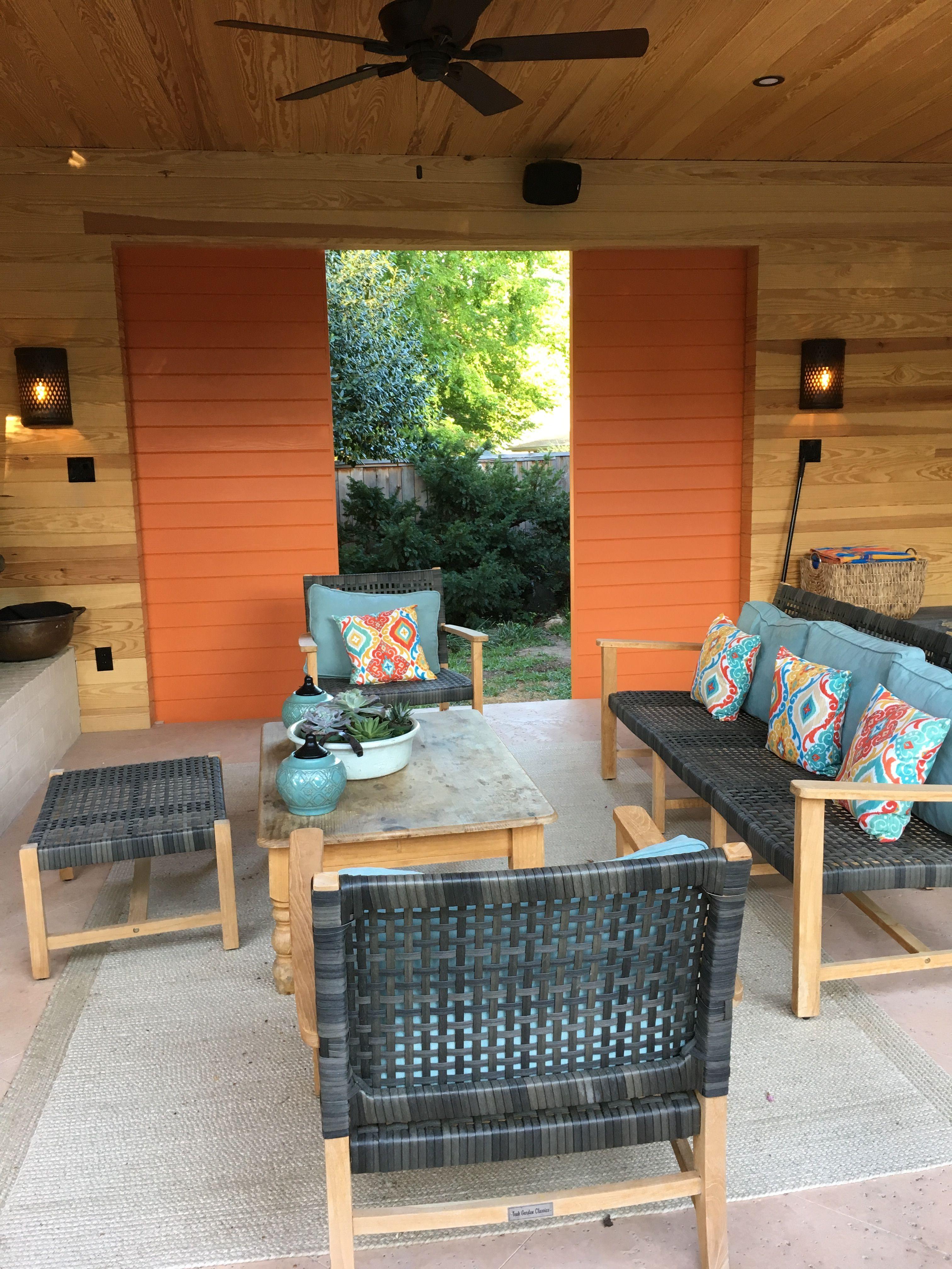 outdoor living space melanie