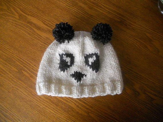 Panda Hat Pattern Little People Pinterest Panda Patterns