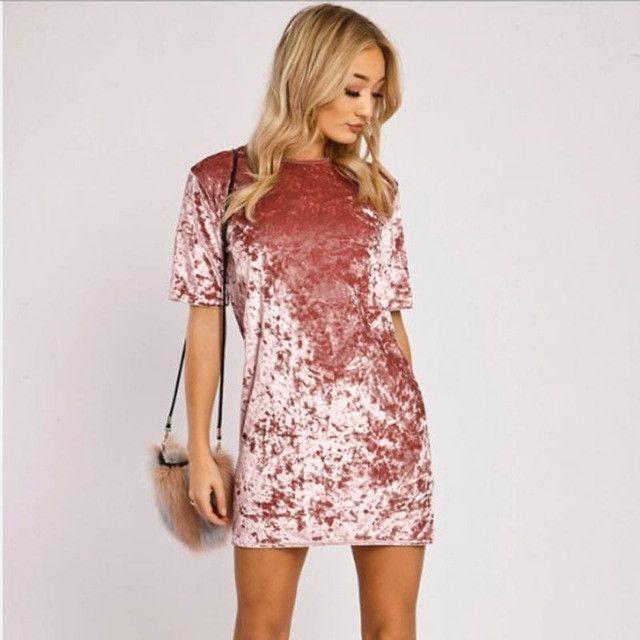 Vintage Fashion Women Velvet Dresses | Products | Pinterest | Products