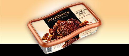 Mövenpick La Crema Chocolate Chips