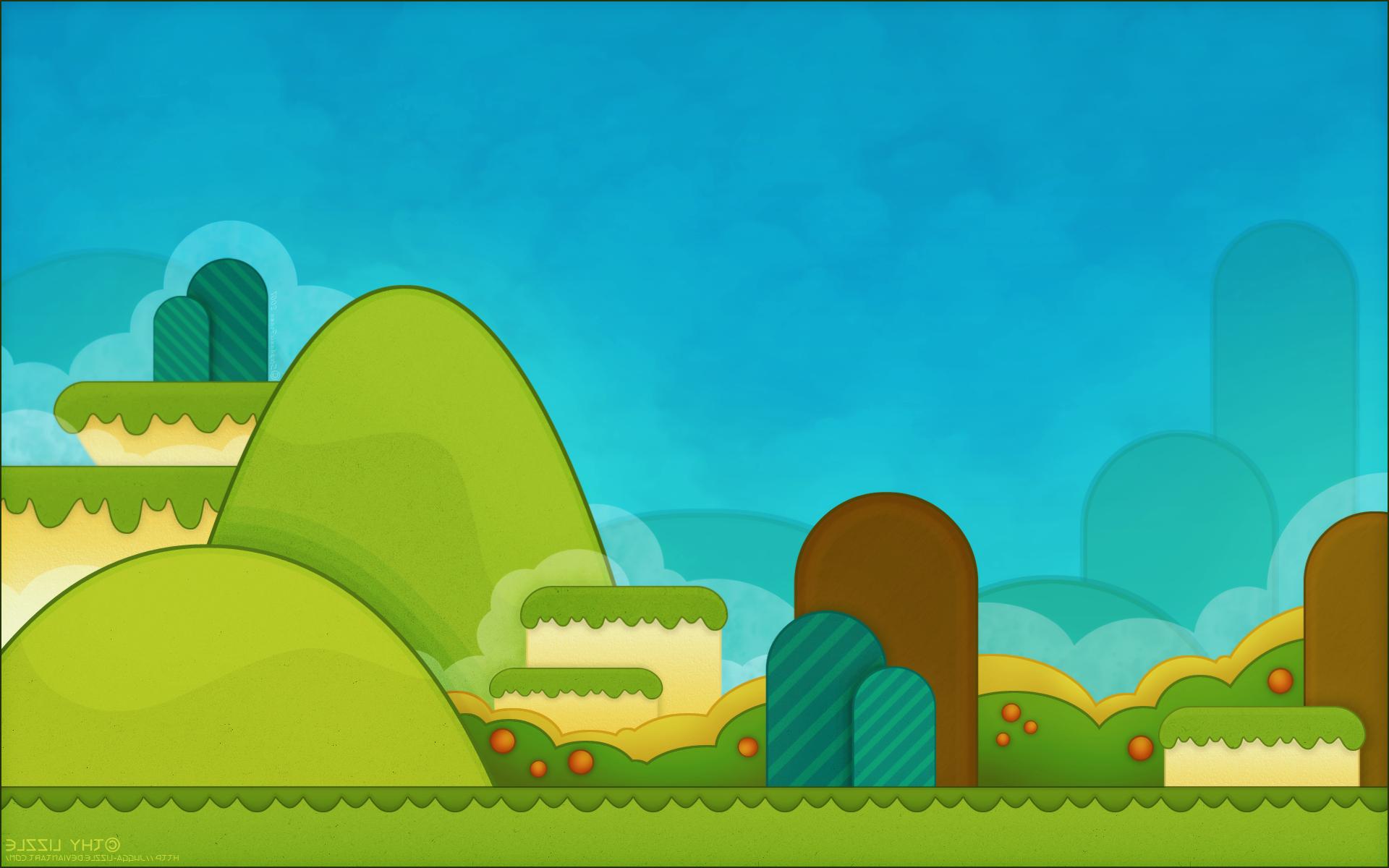 Super Mario Backgrounds Wallpaper