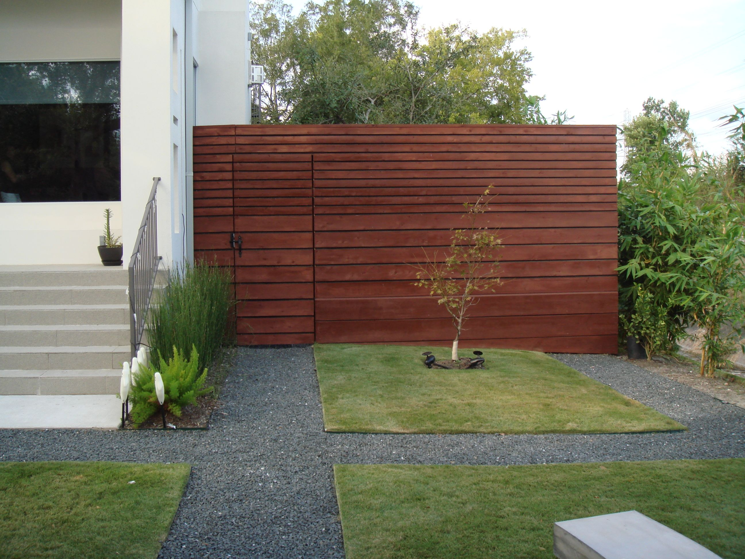 horizontal fence with solid backing for privacy houston texas