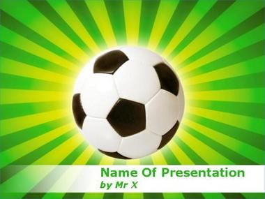 Football In Brazil Powerpoint Presentation Template  Football