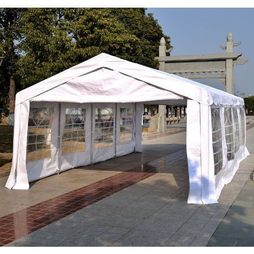 Waterproof Garden Gazebo Marquee Party Tent Portable