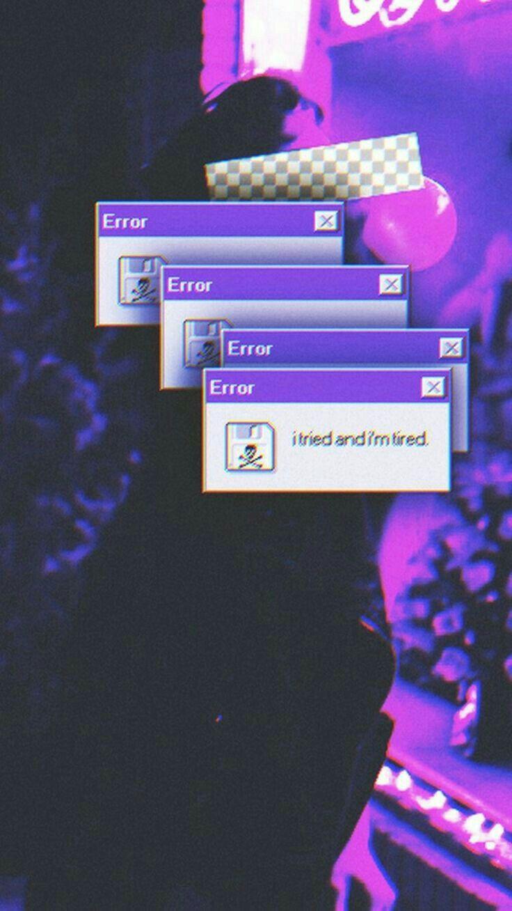Sad Aesthetic Dark Purple