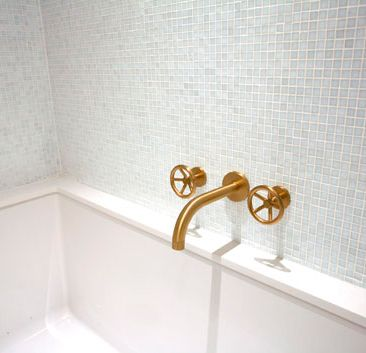 Design Style Industrial Watermark Brooklyn Faucet For The Duravit Backsplash Sink But In Different Finish Design Fashion Design Industrial Style