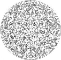 mandala coloring pages expert level google search - Advanced Mandala Coloring Pages