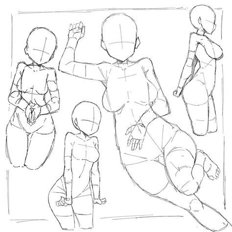 Drawing Girl Body Anatomy Pose Reference 24 Best Ideas Anime Poses Reference Human Figure Drawing Anime Drawings Tutorials