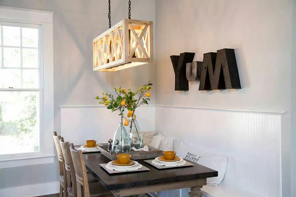 """Love the wall deco. Maybe I could convince my family what I cook is """"yum""""!"""