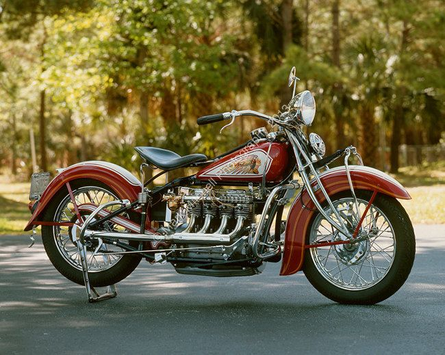 Classic Motorcycle Photograph 1935 Indian 4 Cyl 29 95 Via Etsy Indian Motorcycle Vintage Indian Motorcycles Motorcycle