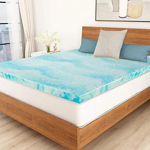 Pin On Bedroom Design Gel memory foam mattress topper queen