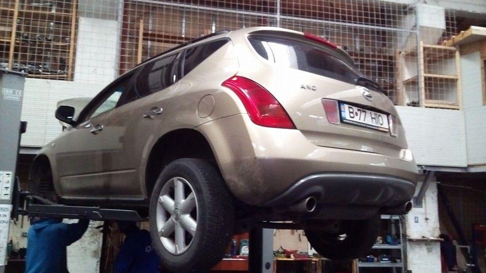 Reparare caseta directie Nissan ANO