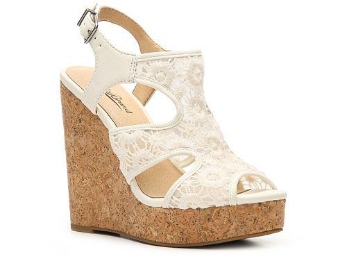 0f06e77a290 Lucky Brand Ranette Wedge Sandal
