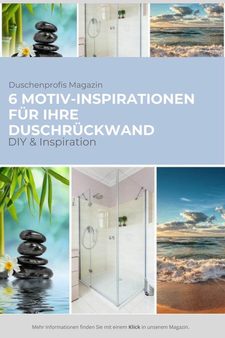 Duschruckwand Ohne Fliesen Kreative Motive Fur Ihre Dusche Duschruckwand Dusche Motive