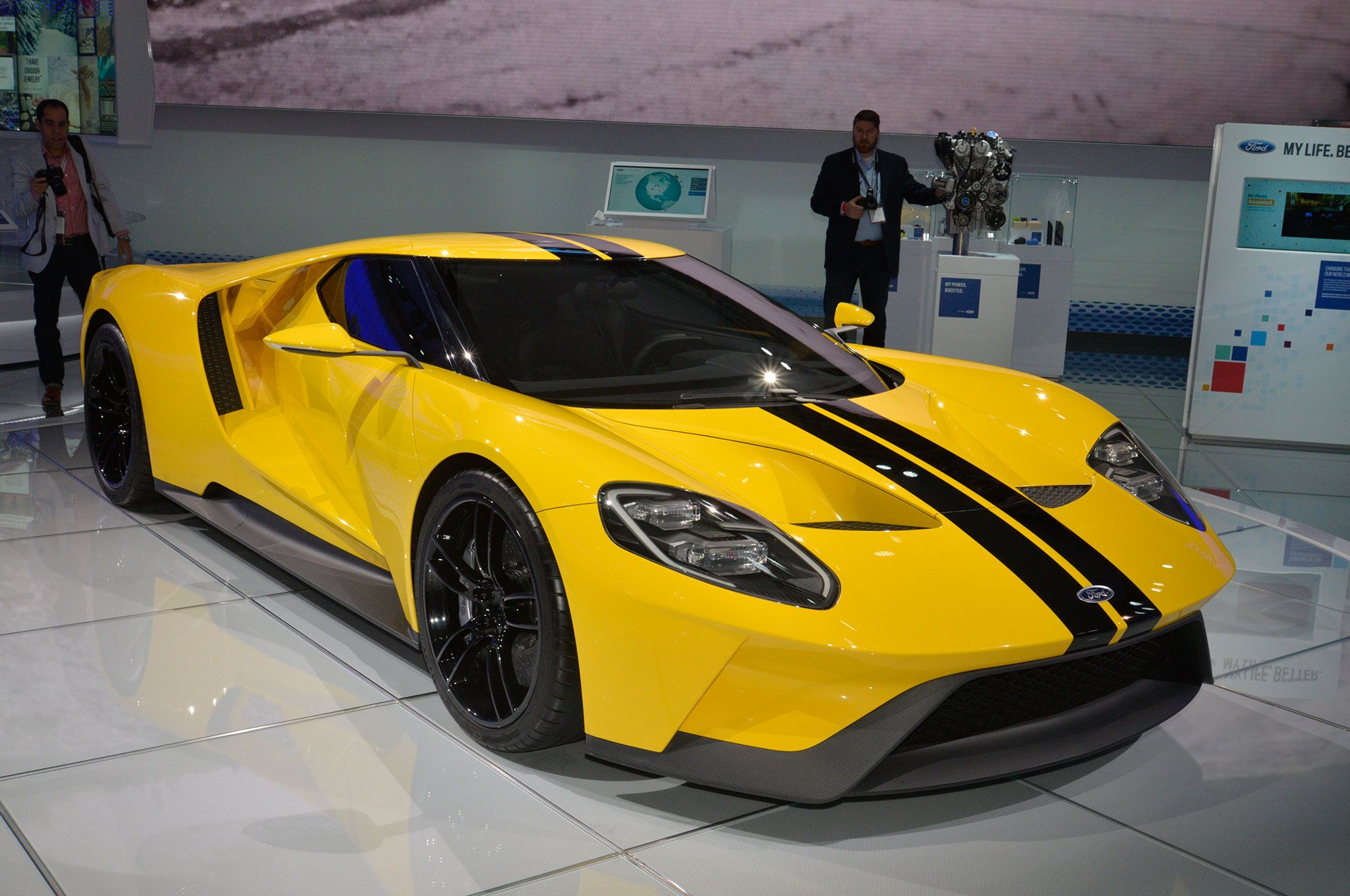 Report Ford Gt Ecoboost V 6 Might Be Offered As Crate Engine Ford Gt Ford Bmw Design