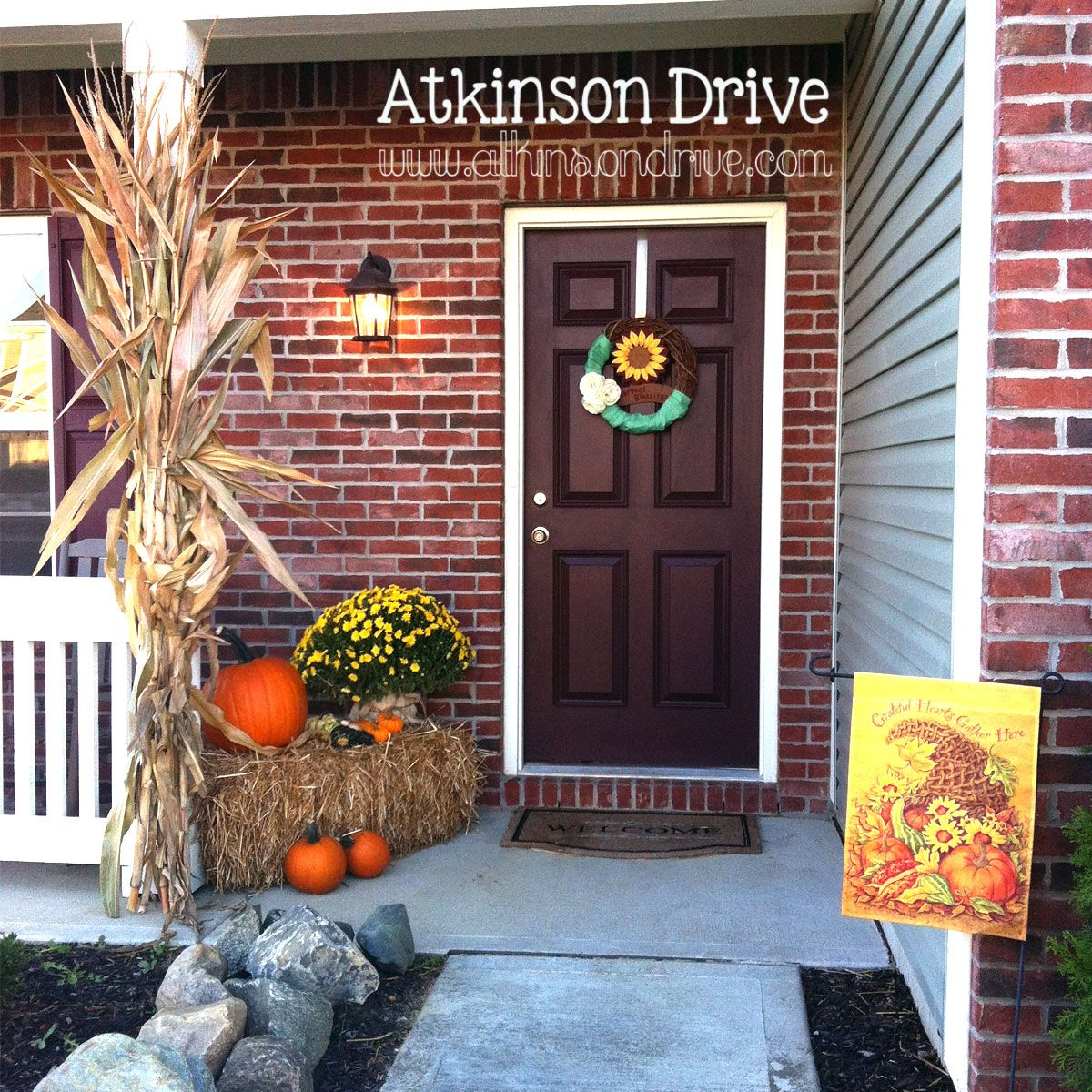 Outdoor Fall Decor Fall Decor Outdoor Fall Decorations
