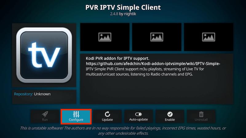 How to Setup PVR IPTV Simple Client Kodi in 2020 | Kodi