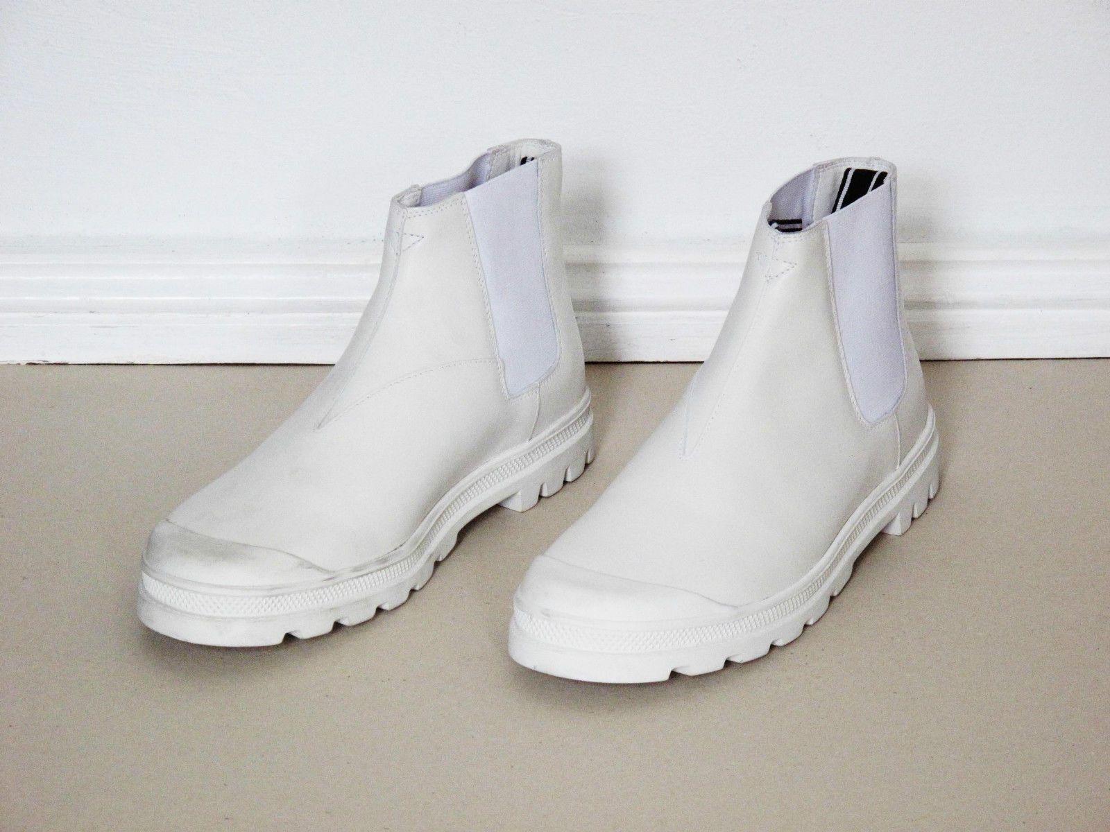 Helmut Lang Sz 8 42 Neu Mens Shoes Boots Acne Schuhe Apc Stiefel Weiss Mens Shoes Boots Shoe Boots Men S Shoes