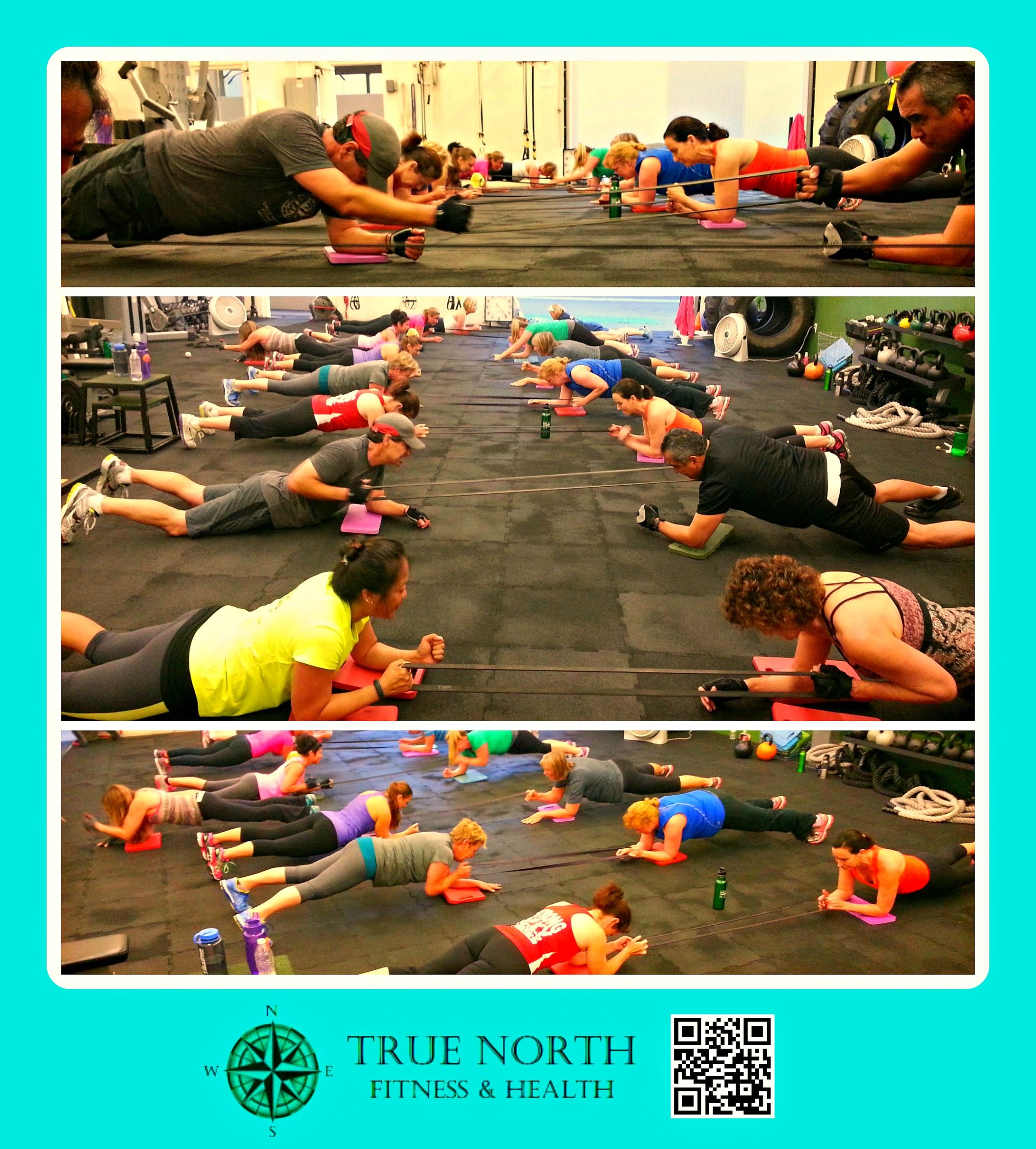 Group Class - Total Body Strength - Partner Rows. #tnfh #fitforlife