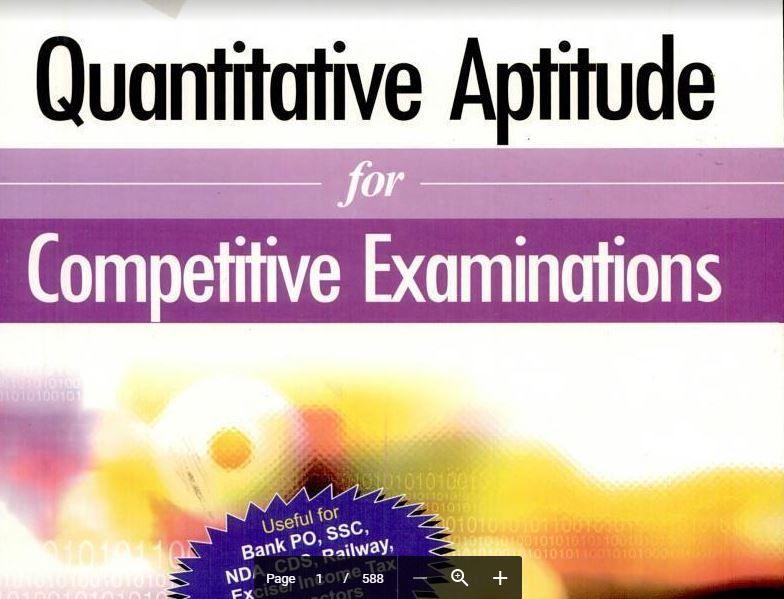 Quantitative Aptitude By Abhijit Guha Full Pdf