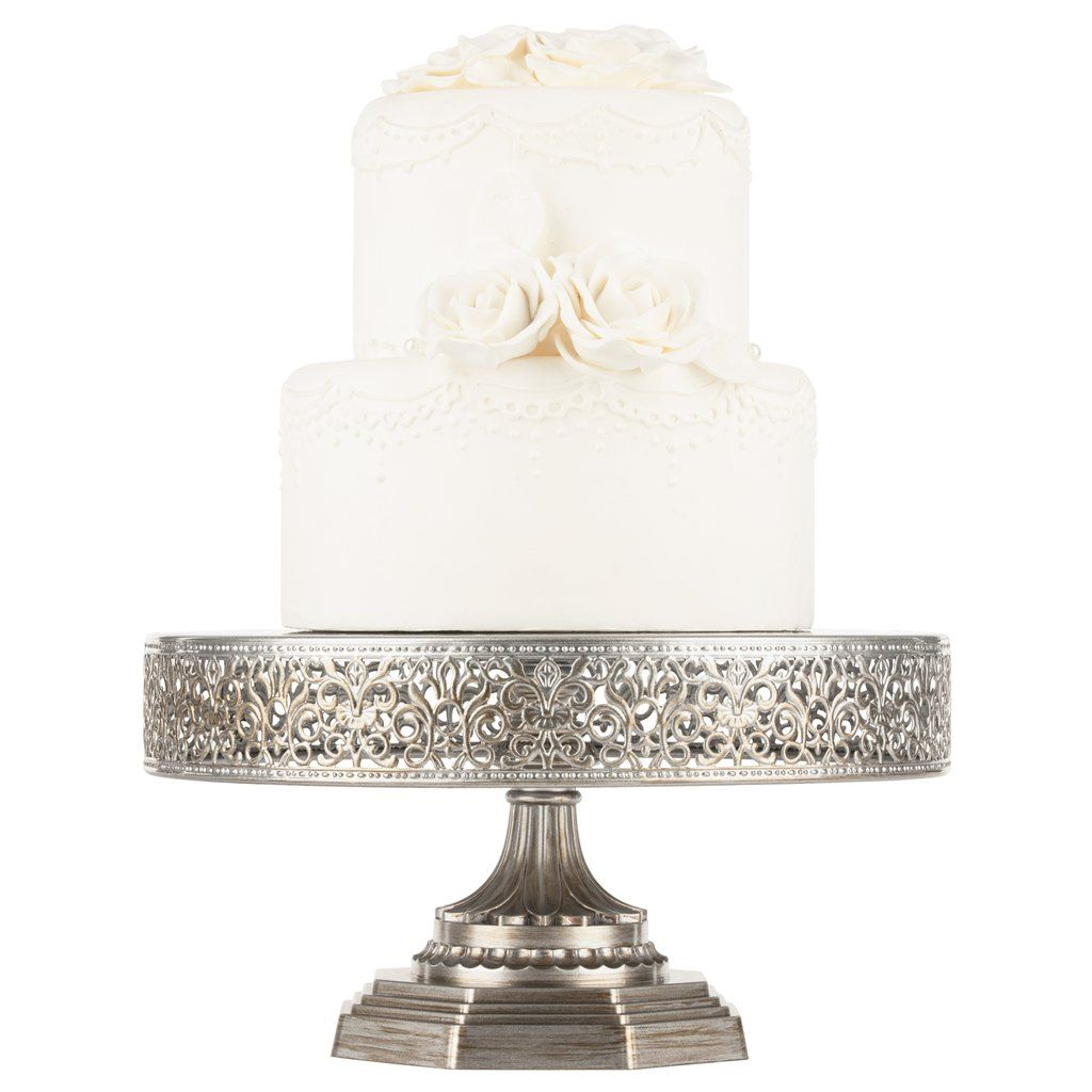 Sxetikh Eikona Wedding Cake Stand Silver Metal Wedding Cake Stands Silver Cake Stand