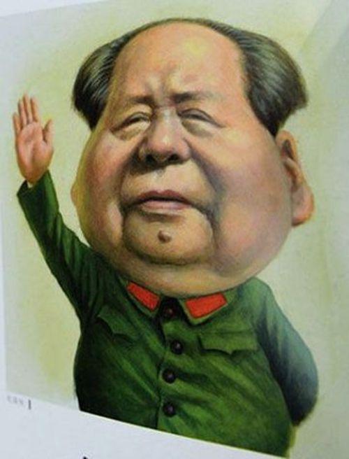 中国五代领导人漫画像 过于调侃_洪哥警影_新浪博客 | Caricature, Comic drawing, Cartoon