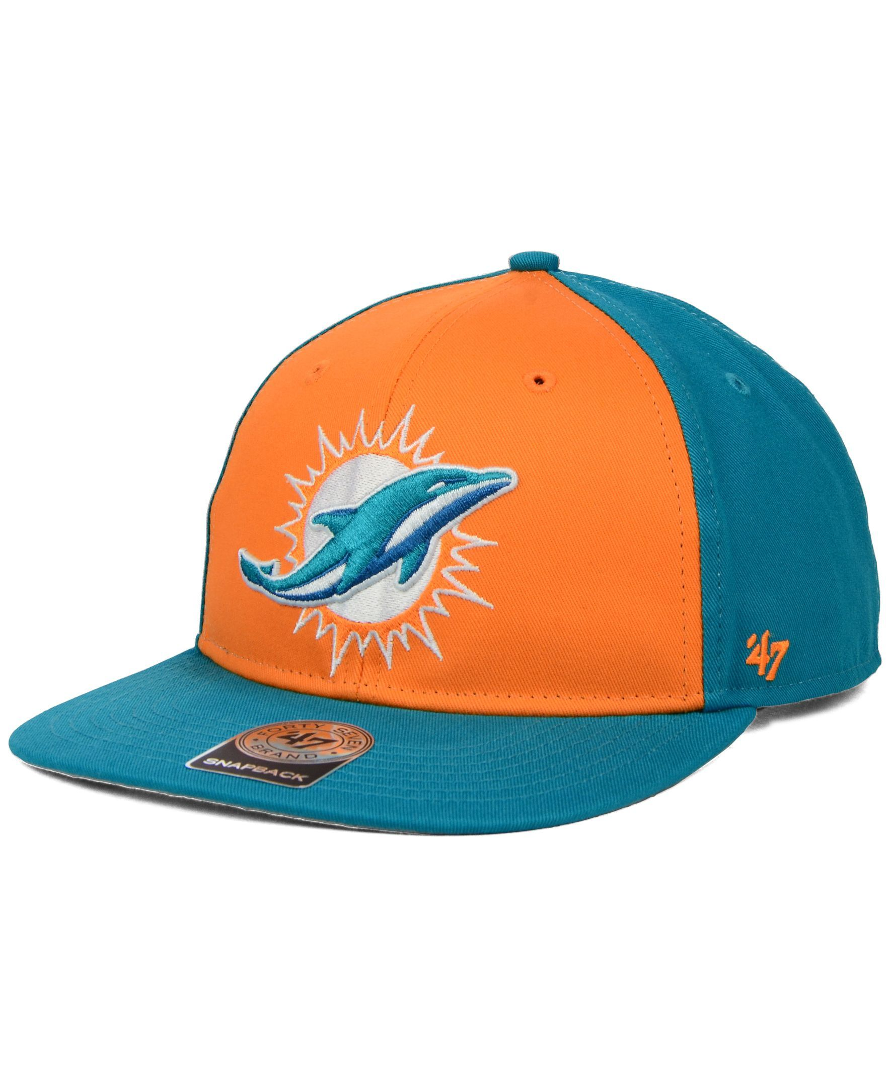 order miami dolphins new era 2018 official nfl kids sideline road 59fifty  cap 2263e 5c180  sale 47 brand kids miami dolphins kinnick snapback cap.  f7b4a ... 66f33480e