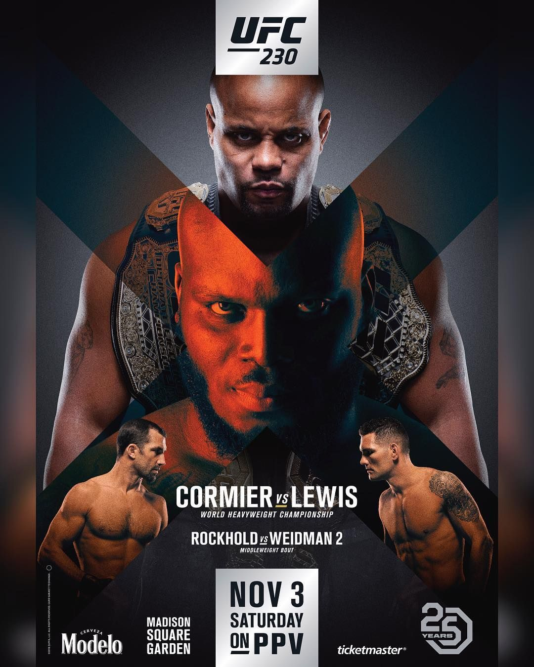 It 39 S Time Ufc230 Dc Mma Vs Thebeastufc The Official Poster Has Dropped Ufc Poster Ufc Boxing Posters