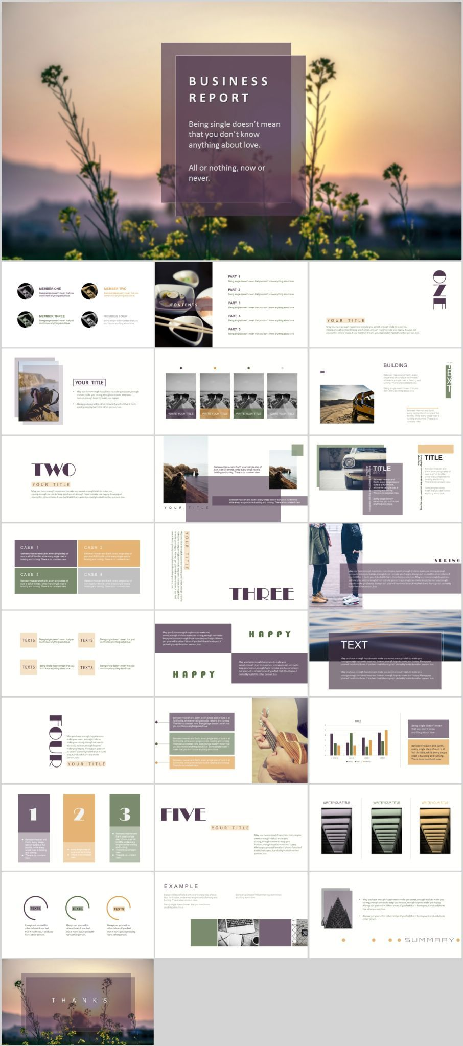 26 magazine style PowerPoint templatesThe highest quality PowerPoint Templates and Keynote Templates download