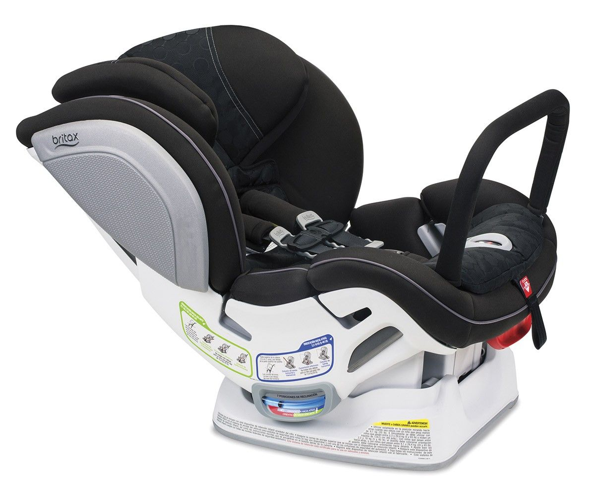 The Britax Advocate ClickTight ARB Convertible Car Seat offers both
