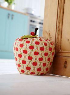 Apple Door Stop - Fabric Door Stops | Home Accessories | Contemporary Homeware - The Present Season