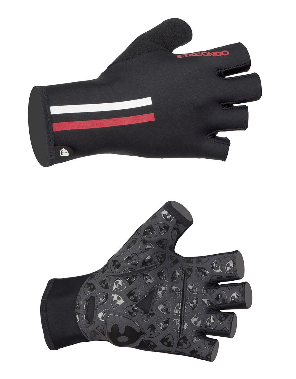 Gloves aero summer pullon cycling gloves in black by