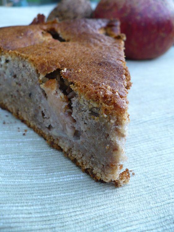gâteau d'automne (pommes, miel, noix) | recette | miel, noix et pommes