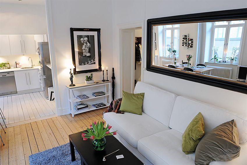 De Apartamentos Pequenos Decorating Small ApartmentsSmall Apartment Interior DesignApartment IdeasStudio DecoratingLiving Room