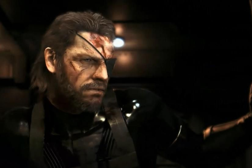 Metal Gear Solid V Ground Zeroes Big Boss Video Games