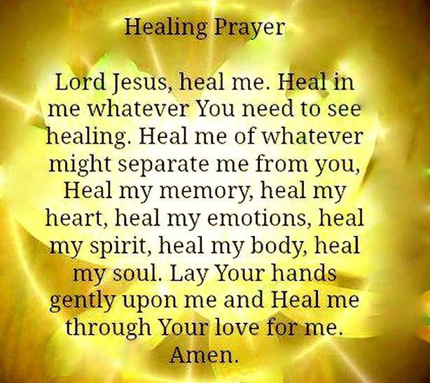 Catholic prayer for healing