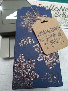 Coccinellenellescrap.blogspot.fr: Pochette de Noël festonnée
