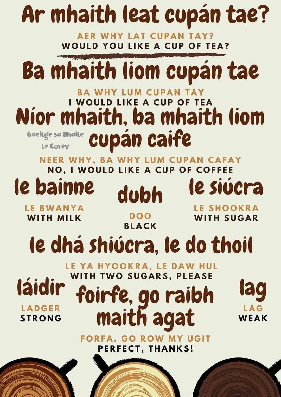 Pin By Kim Kenward On Gaeilge In