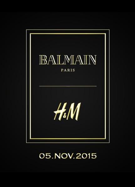 BALMAIN X H&M | House of Beccaria~