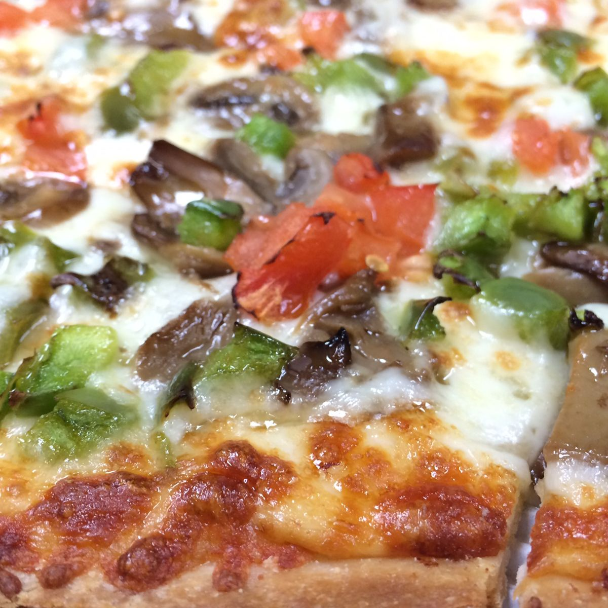 Get your daily dose of veggies at Jet's Pizza!
