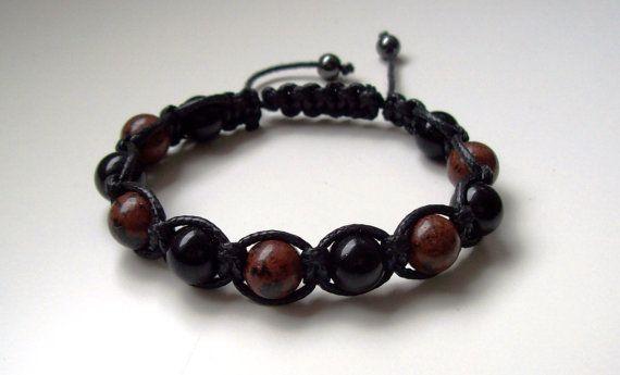 bracelet pour homme bracelet perles shamballa. Black Bedroom Furniture Sets. Home Design Ideas