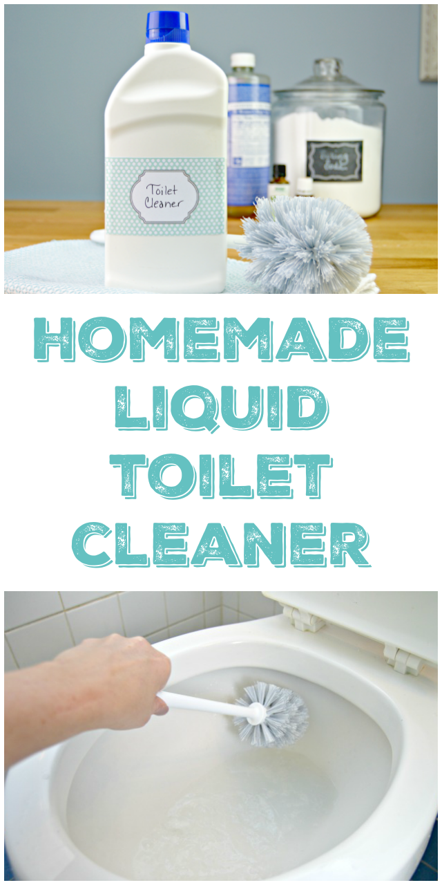 Homemade Liquid Toilet Cleaner | Toilet, Essentials and Homemade