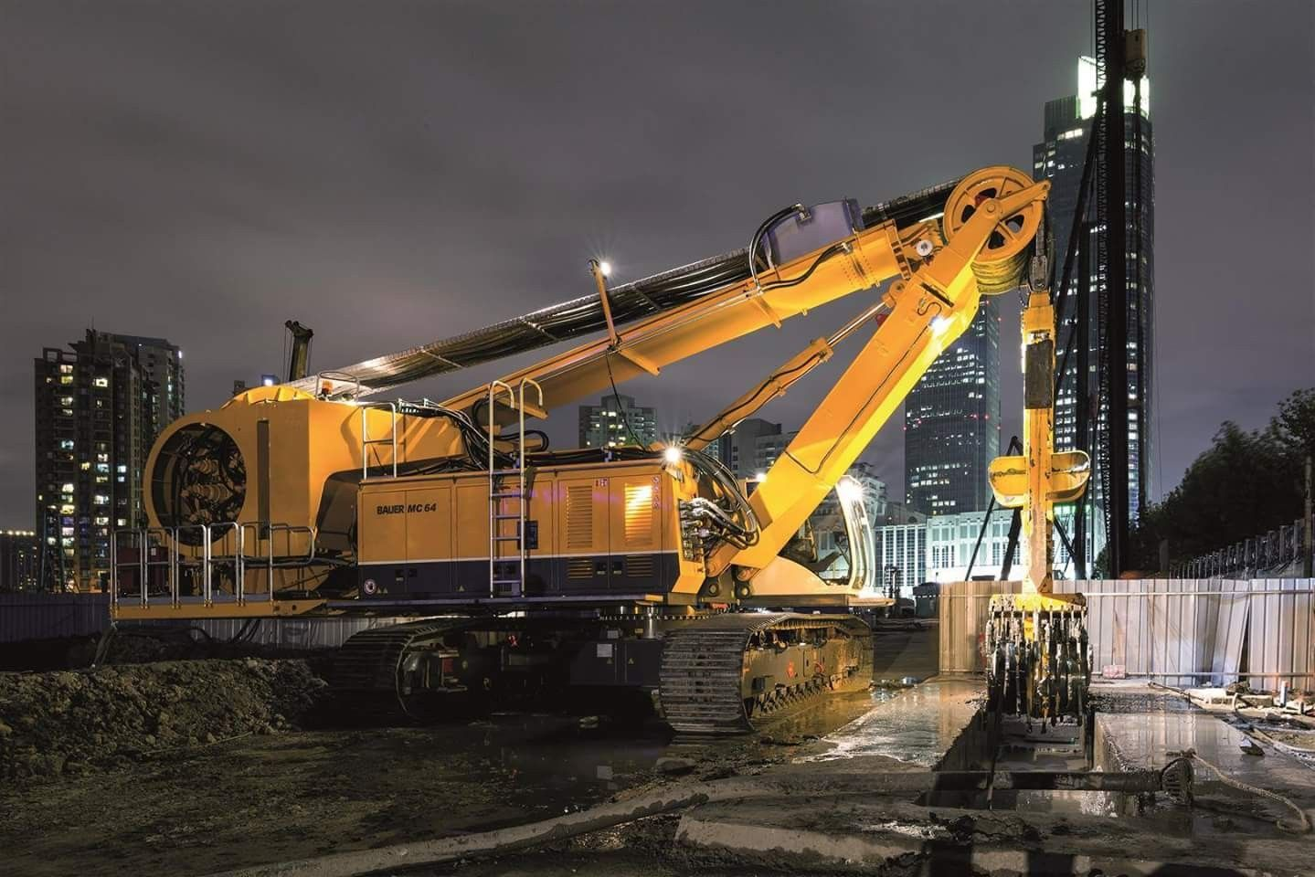Bauer MC Heavy equipment, Construction equipment, Heavy