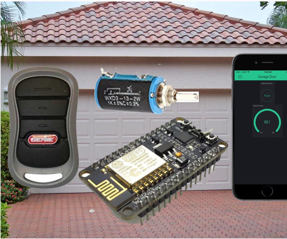 Is The Garage Door Open 8266 Iphone Android